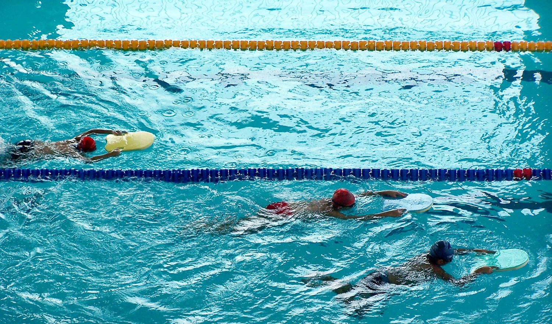 Swimmingisthemostefficientexercisetocooloff. (Photobygokoroko)