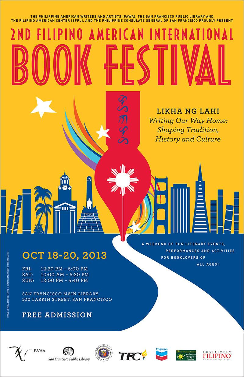PARTNER: 2nd Filipino American International Book Festival