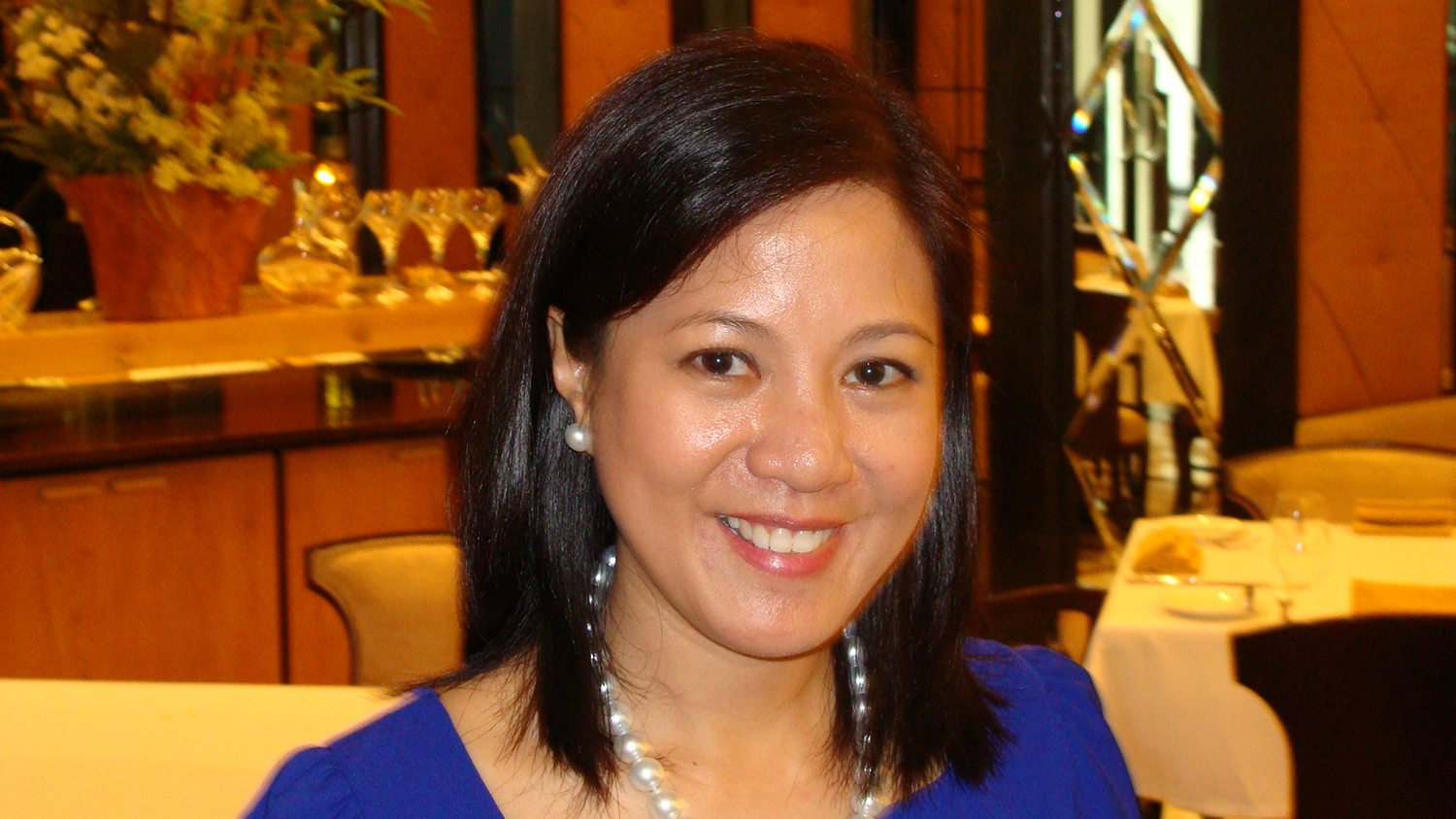 Tricia C. Tensuan, Vice President, Admissions and External Relations  (Photo by Elizabeth Ann Quirino)