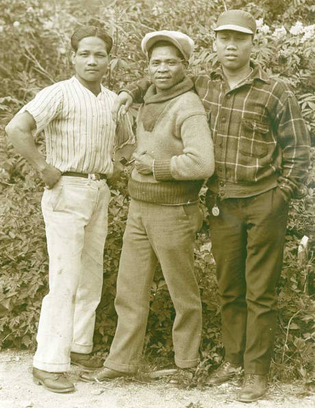 Filipino cannery workers in Alaska  (Source: Alaska State Library Historical Collections)