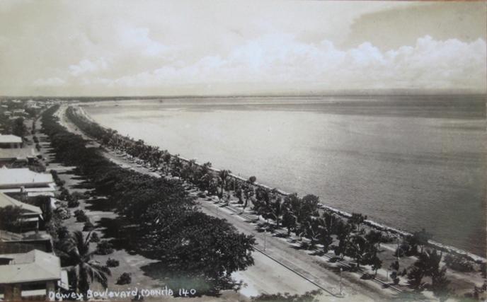 Dewey Boulevard in the 1930s