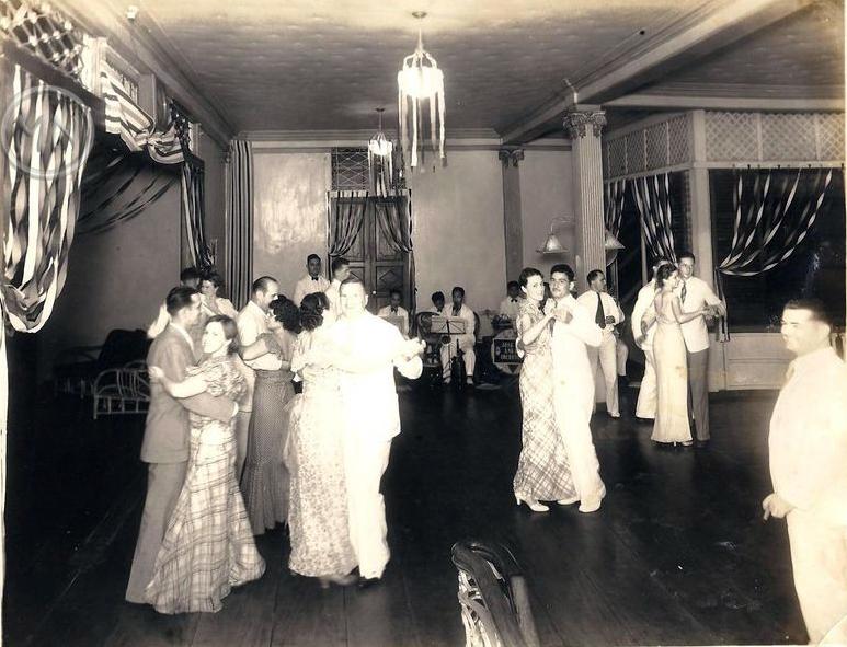 Dancing at the Polo Club, circa 1926