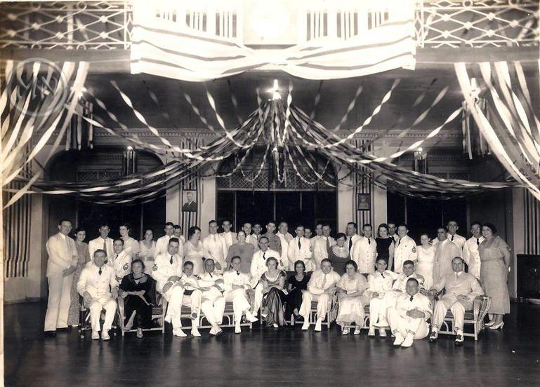 Members of the Polo Club, circaApril1926