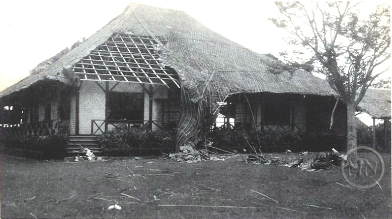 The Polo Club in the aftermath of a typhoon