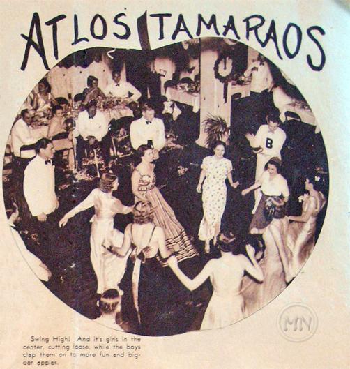 New Year's Eve at Tamaraos Club, circa1937