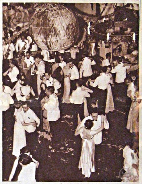 New Year's Eve at Tamaraos Club, circa 1937