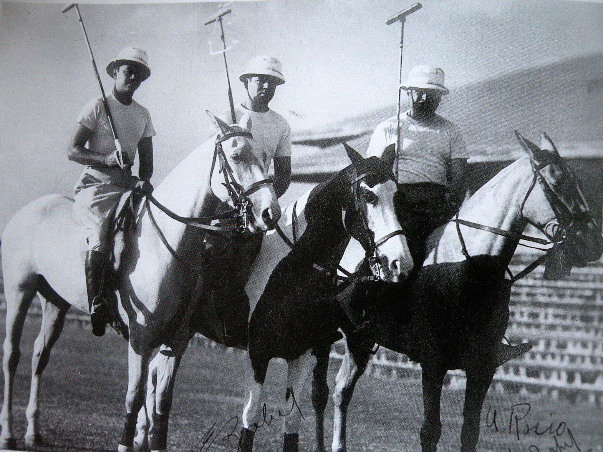 Dr. Oscar Jacinto, Enrique Zobel, and Jacobo Zobel, circa1952