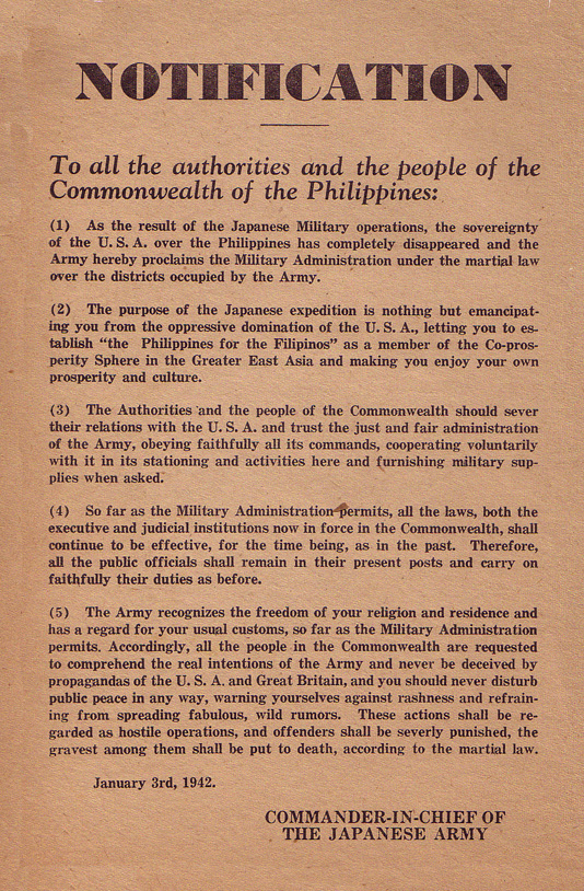 Notice of Emancipation