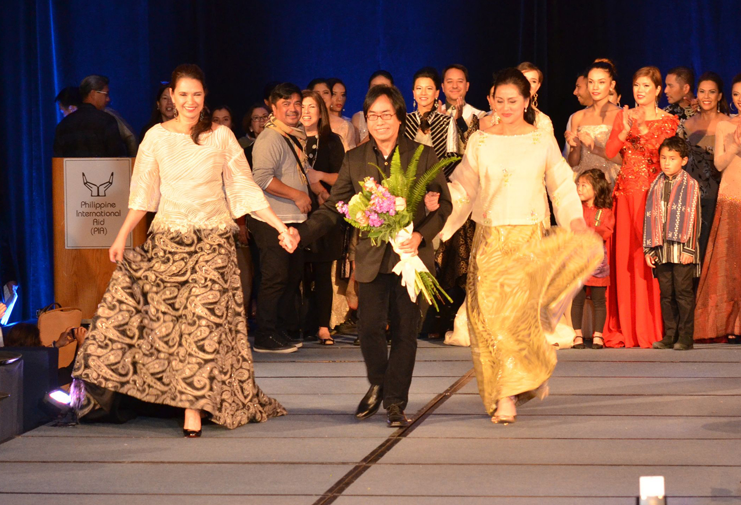 """Barge Ramos is the featured designer at this year's Philippine International Aid's (PIA) fashion show fundraiser """"Holiday Haute Couture XII""""  (Photo by iClickforacause.org)"""