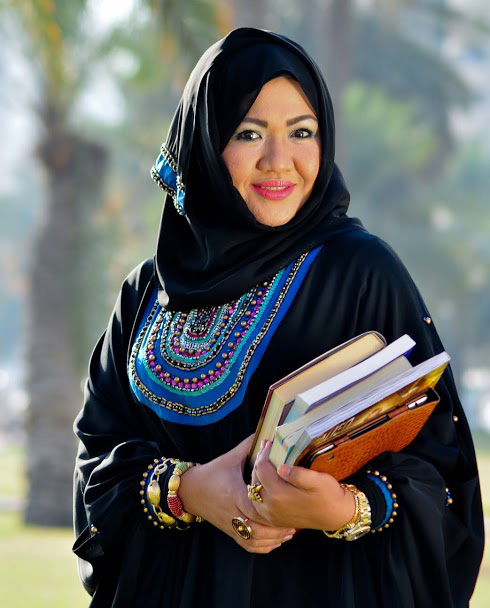 Mary Jane Alvero-Al Mahdi, is a professional engineer, chemist, CEO, wife, mother and proud to be a Filipina.  (Photo by Wallei Bautista Trinidad)