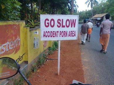 Go Slow  (Source: facebook.com)
