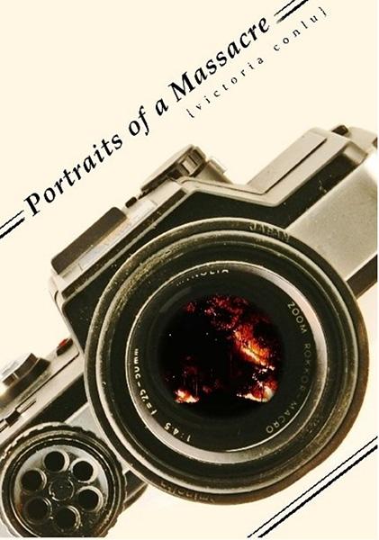 """Portraits of a Massacre"" by Victoria Conlu )Source: lulu.com)"