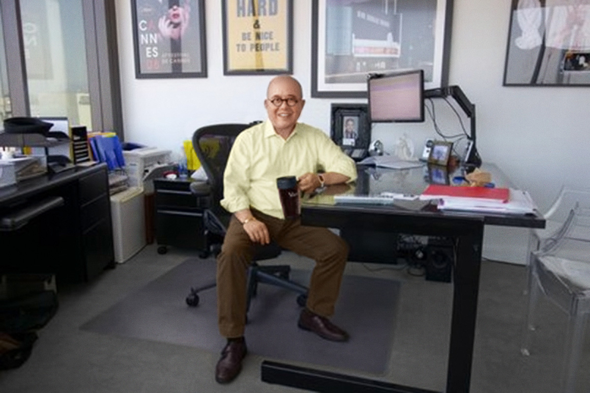 Fritz Friedman at his office (Photo courtesy of Fritz Friedman)