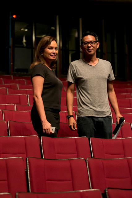 Margie Moran-Floirendo and Paul Alexander Morales (Photo courtesy of Margie Moran Floirendo)