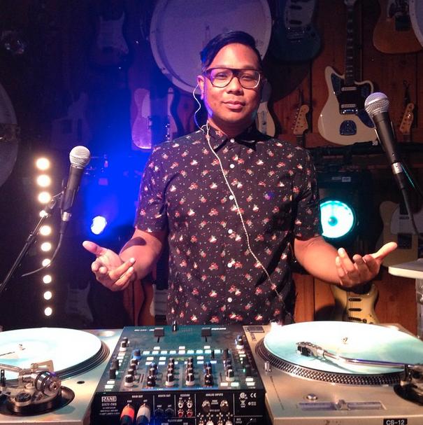 DJ Bonics. Image from Instagram