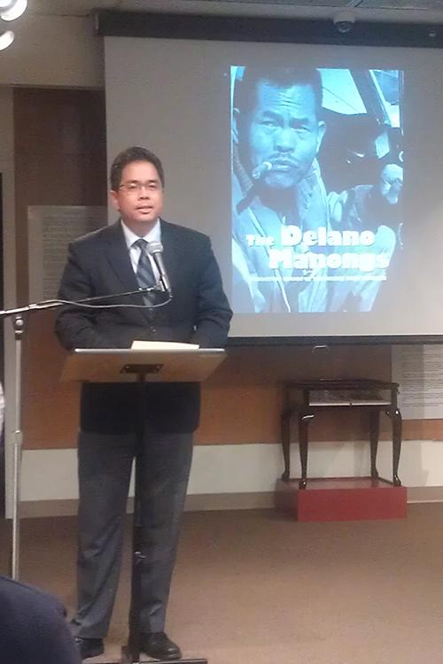 Deputy Consul General Jamie Ramon Ascalon (Photo by Raymond Virata)