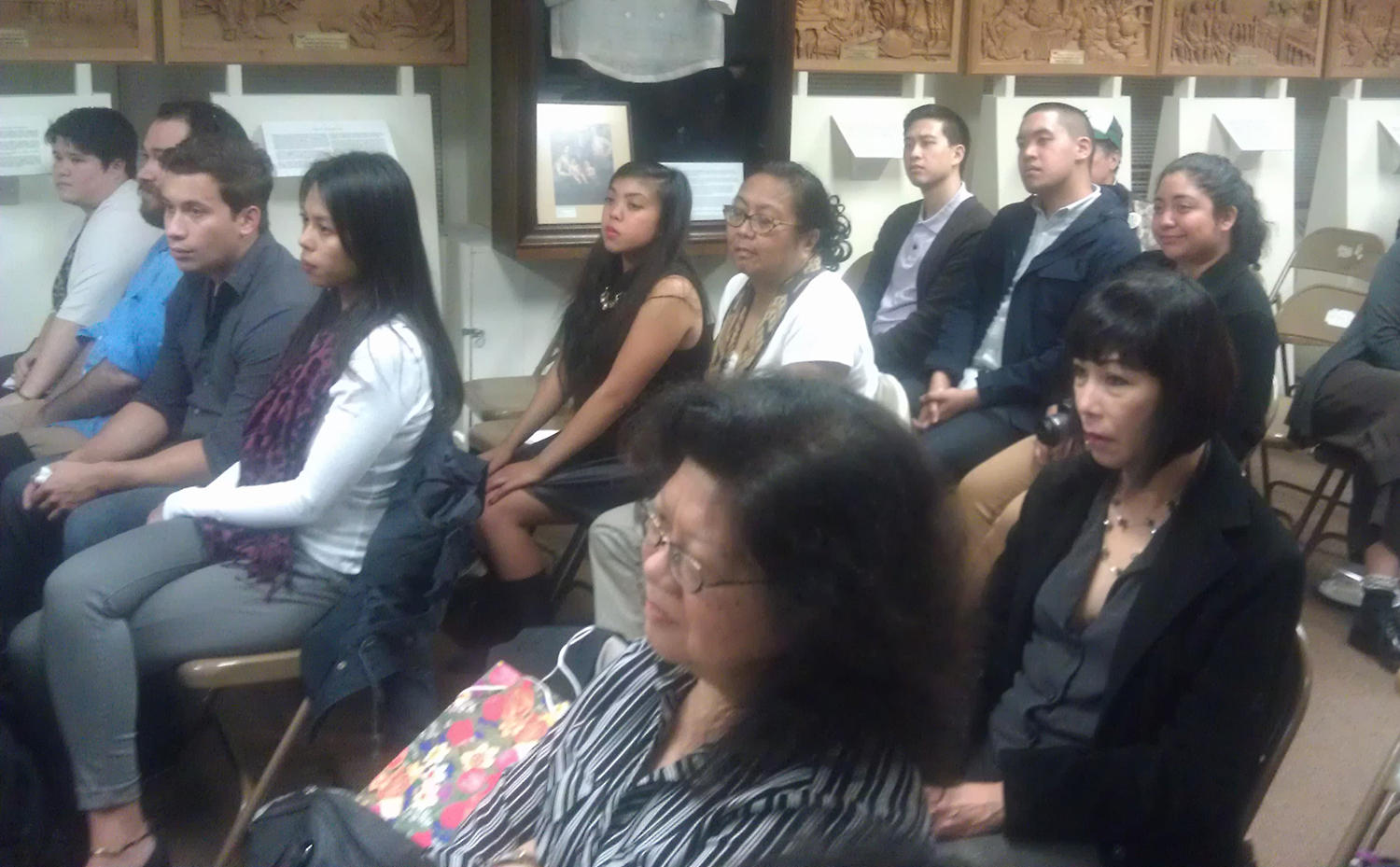 The audience at the Philippine Consulate screening (Photo by Raymond Virata)