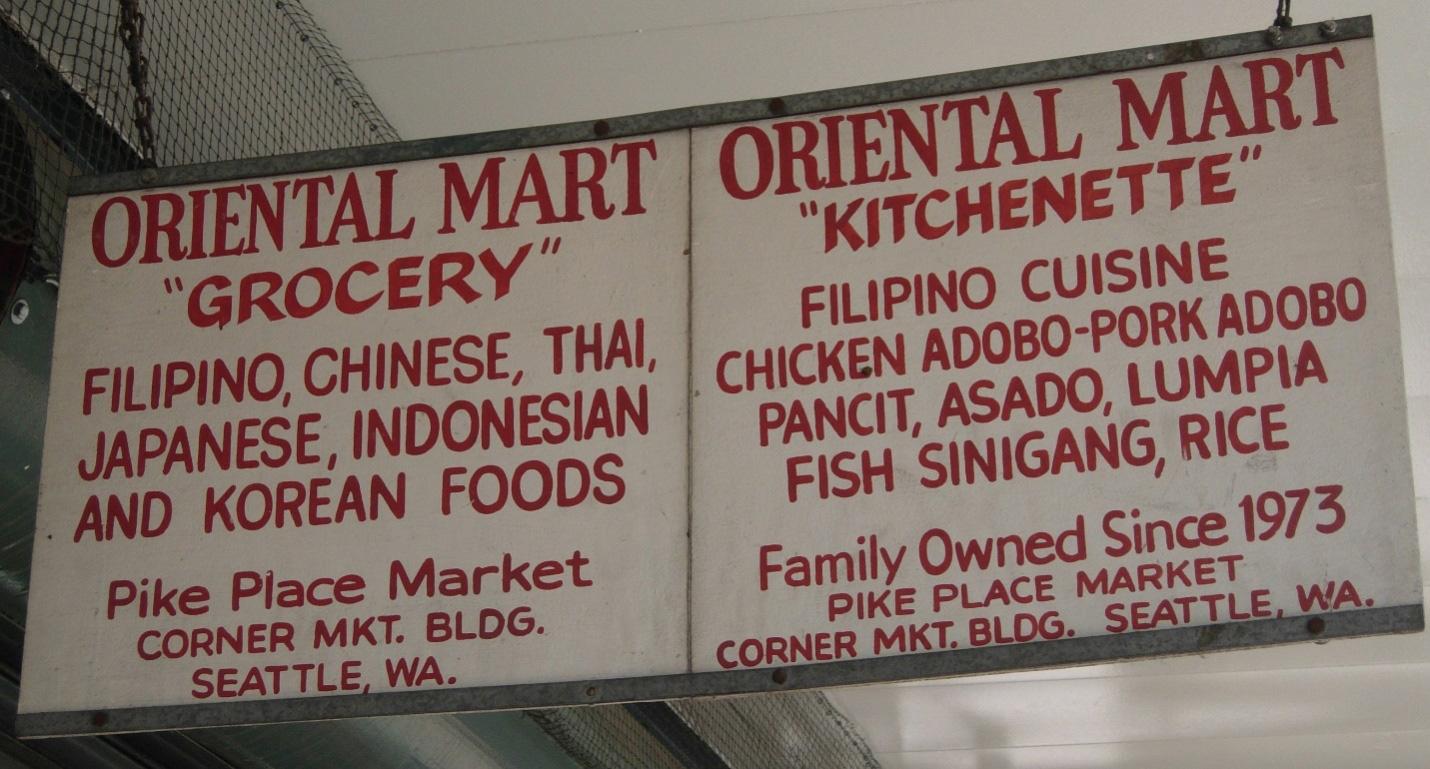 Oriental Mart (Photo by Gia R. Mendoza)