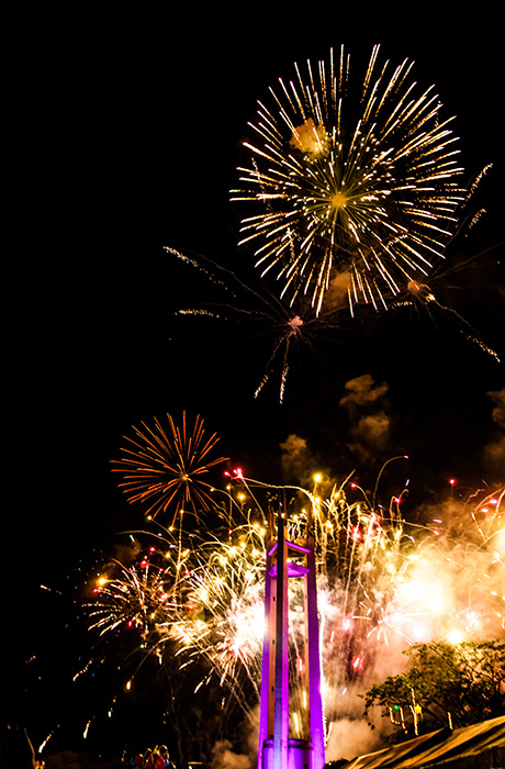 New Year's celebration in the Philippines (Source: wikipedia.org)