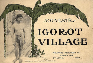 Souvenir Igorot Village.St. Louis: Philippine Photograph Co., 1904 (Source: University of Delaware Library)