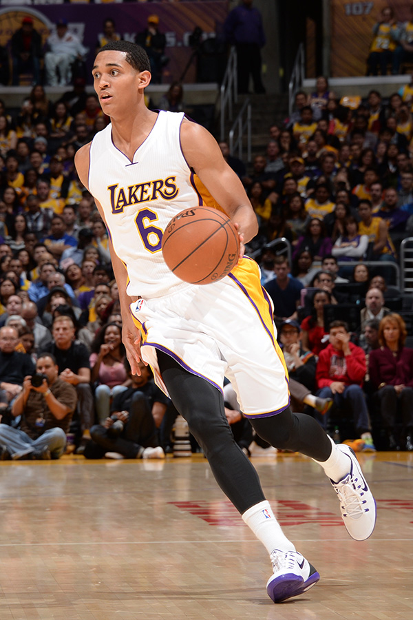 Clarkson currently averages 8.4 points, 2.2 rebounds and 2.0 assists per game (Source: NBA Photos/Los Angeles Lakers)