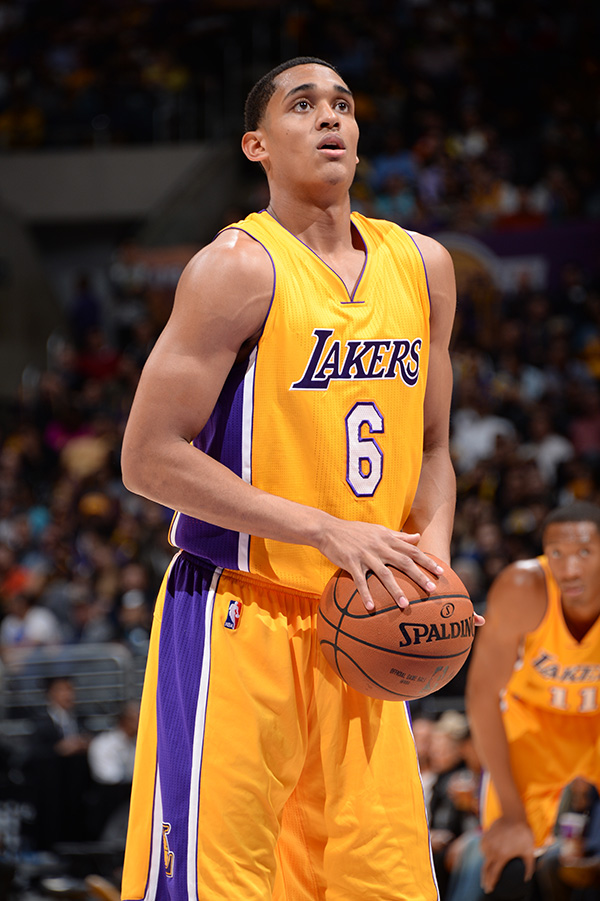 Clarkson is the first Fil-Am to play in the NBA since Raymond Townsend played from 1978-1982 (Source: NBA Photos/Los Angeles Lakers)