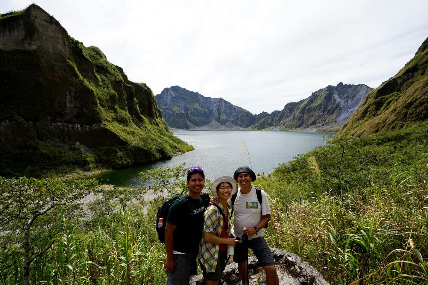 Pinatubo Crater Lake (Photo courtesy of Sonny Siasoco)