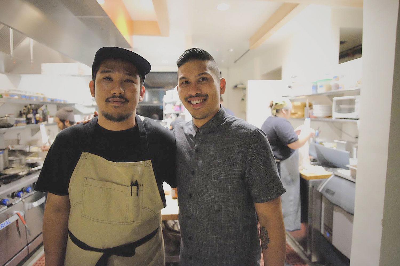 Chad and Chase Valencia of LASA Restaurant Project (Photo courtesy of LASA Restaurant Project)