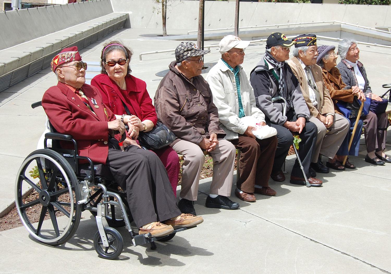 Filipino American Veterans (Photo by Raymond Virata)