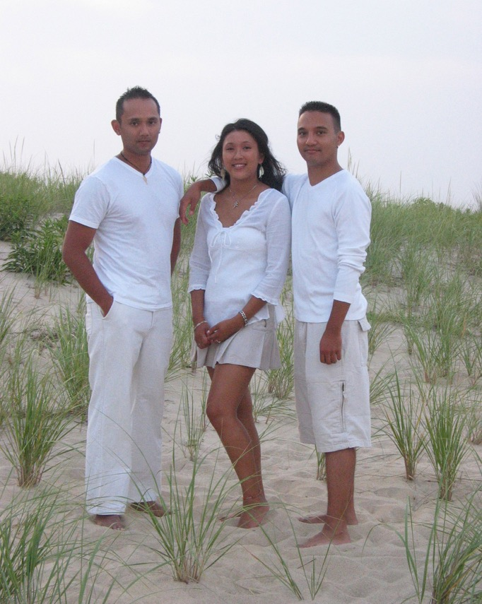 The Concepcion children, Paolo, Pia and Luis (Photo courtesy of Concepcion family)