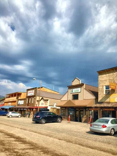 The main street of Gardiner, Montana (pop. 875) is straight out of an Old Western movie set. You almost expect a gunslinging cowboy riding into downtown anytime. It's claim to fame: Yellowstone's northern gateway (Photo by Gemma Nemenzo).