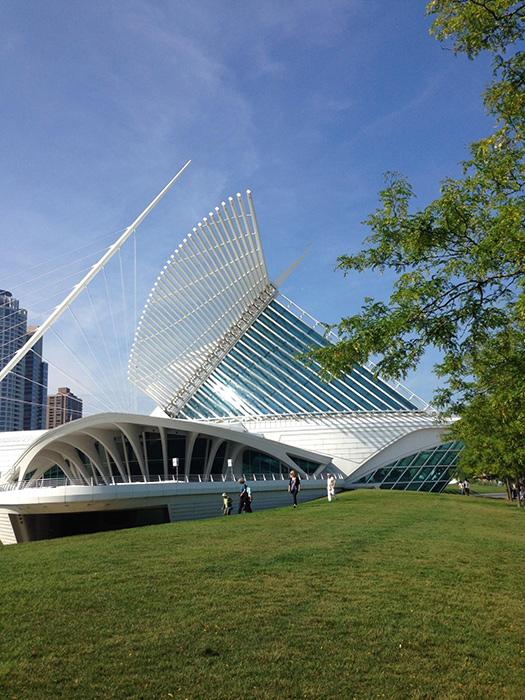 The Milwaukee Museum of Art (Photo by Gemma Nemenzo)