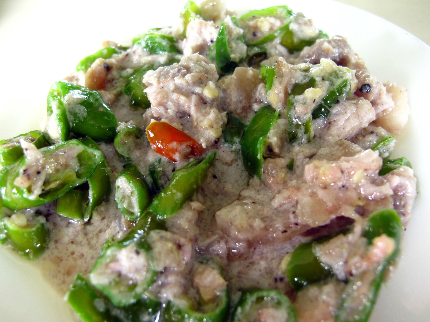 The Happy Home Cook: Bicol Express — Positively Filipino
