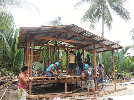 Volunteer workers of Balay sa Kabos