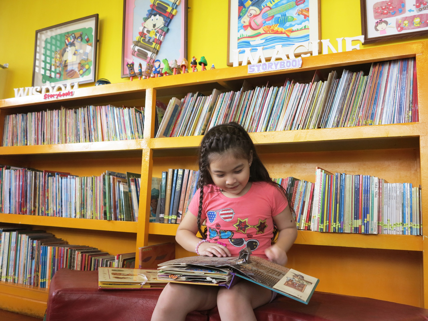 The Library (Photo courtesy of Museo Pambata)