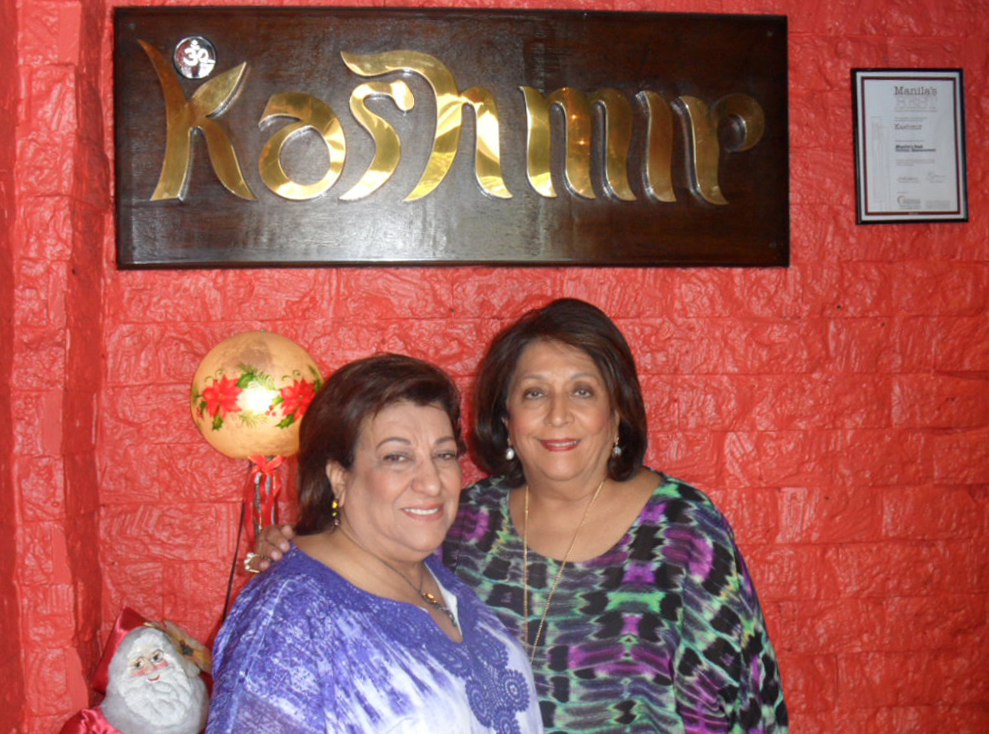 Founders and sisters Indra Mirchandani and Kamla Singh