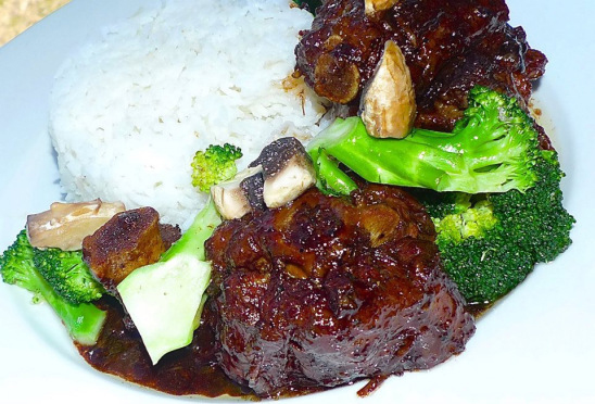 Oxtail Adobo (Photo courtesy of Chef Michelle Mossige)