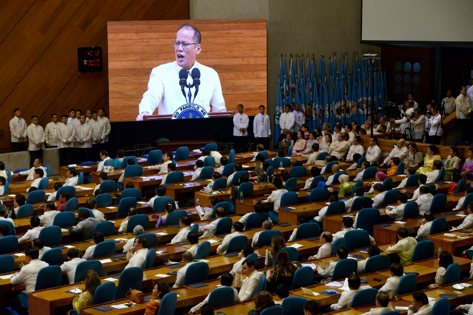 The last State of the Nation Address of President Benigno S. Aquino III (Source: gmanetwork.com)