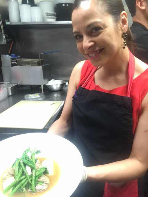Patrice Cleary, owner of Purple Patch D.C. was inspired by her mom who is a caterer and who knew how to integrate Filipino flavors appealing to the American palate. (Photo by Elizabeth Ann Quirino)