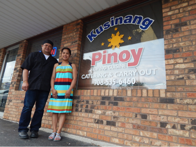 Johnny and Malou Ventura are proud owners of Kusinang Pinoy, which embodies happiness. (Photo by Ivan Kevin Castro)