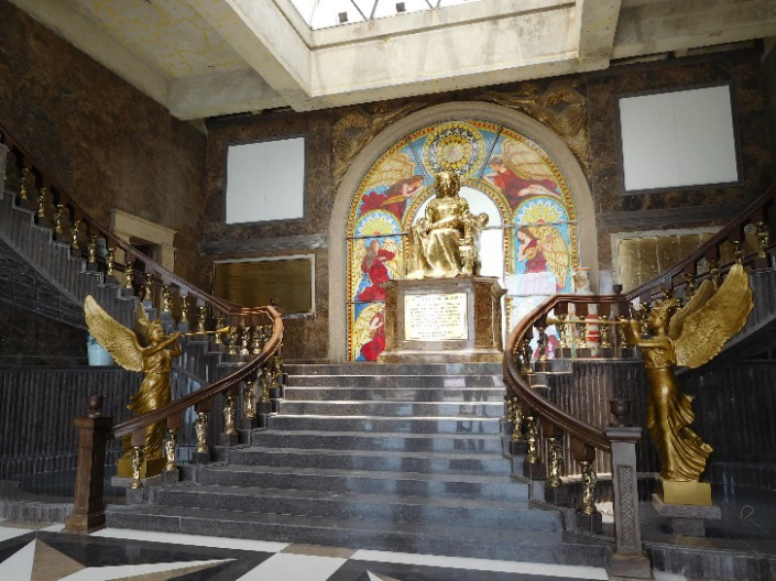 Inside the Temple of Leah (Photo by Gia Mendoza)