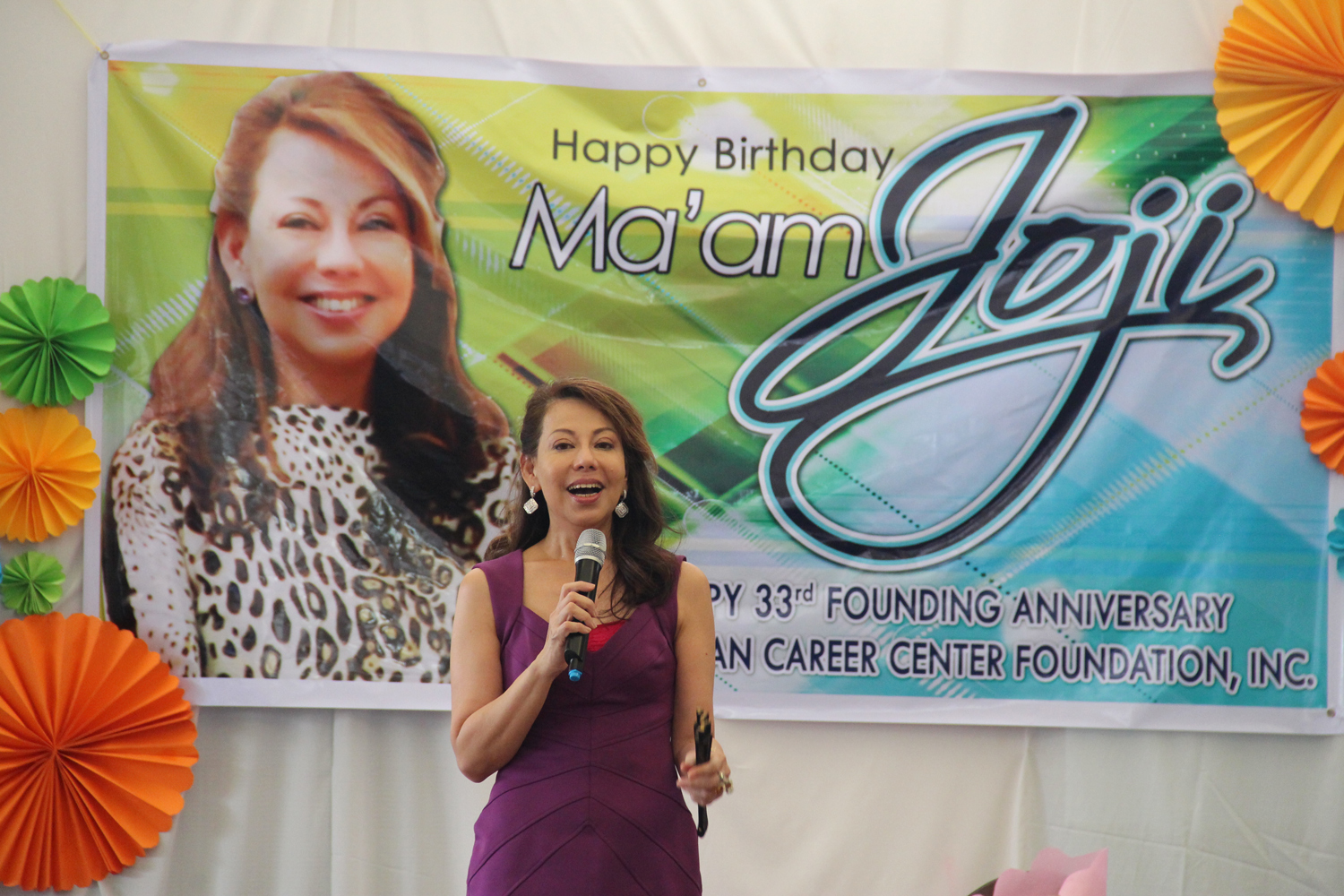 Along with the Chairman's birthday is the founding anniversary of the Joji Ilagan Career Center Foundation, Incorporated. It was a great day not just for Joji Ilagan Bian, but for the people behind the success of the Foundation as they were able to reminisce the start of something great that happened in their lives when they belonged to the JIB family. (Photo courtesy of  Joji Ilagan Bian)