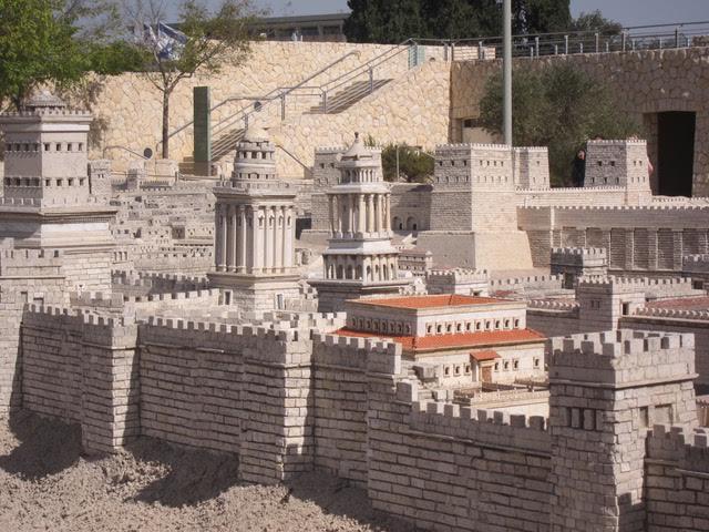 The model of the city of Jerusalem  (Photo by Mona Lisa Yuchengco  )