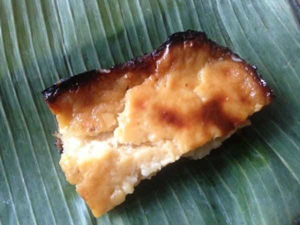 Cassava Cake (Photo by Elizabeth Ann Quirino)