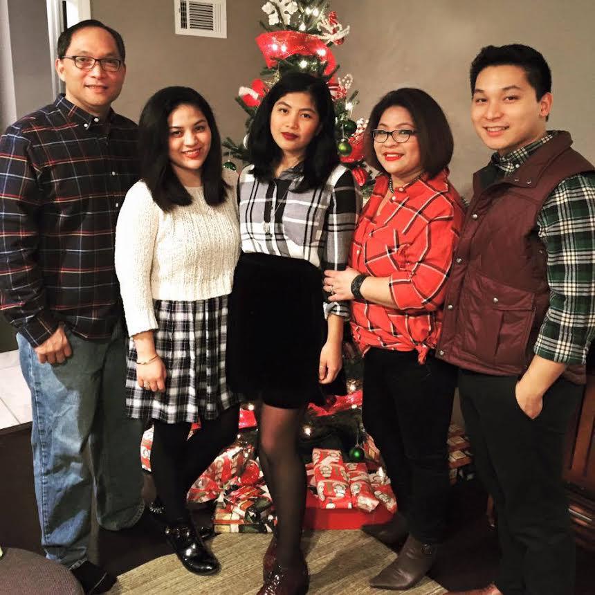 Malou Perez Nievera finds inspiration from her family: husband Christian Nievera, children Heather Nicole, Isabela Micaela and Joey. (Photo courtesy of Malou Perez Nievera)