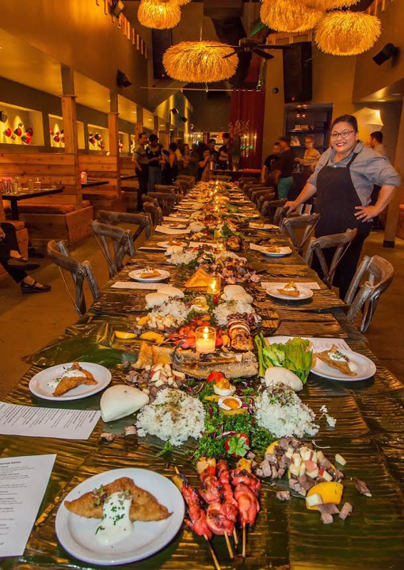 Malou Perez Nievera's monthly Kamayan pop-up dinners at Hiro Kitchen in STL are always sold out. (Photo courtesy of Malou Perez Nievera)