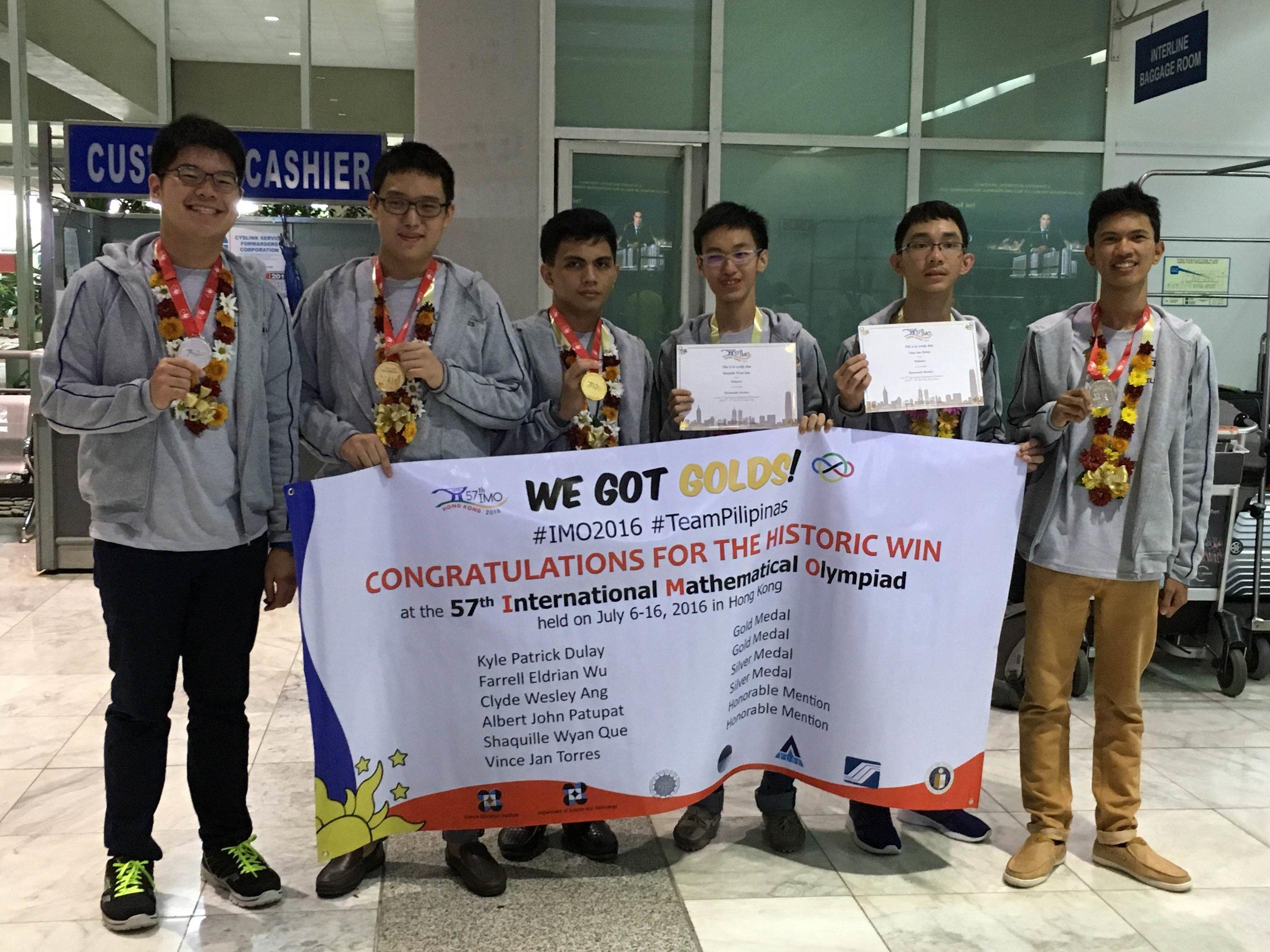 The Philippine Team (Source: DOST)