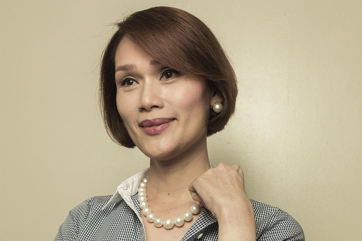 Geraldine Roman (Source: CNNPhilippines)
