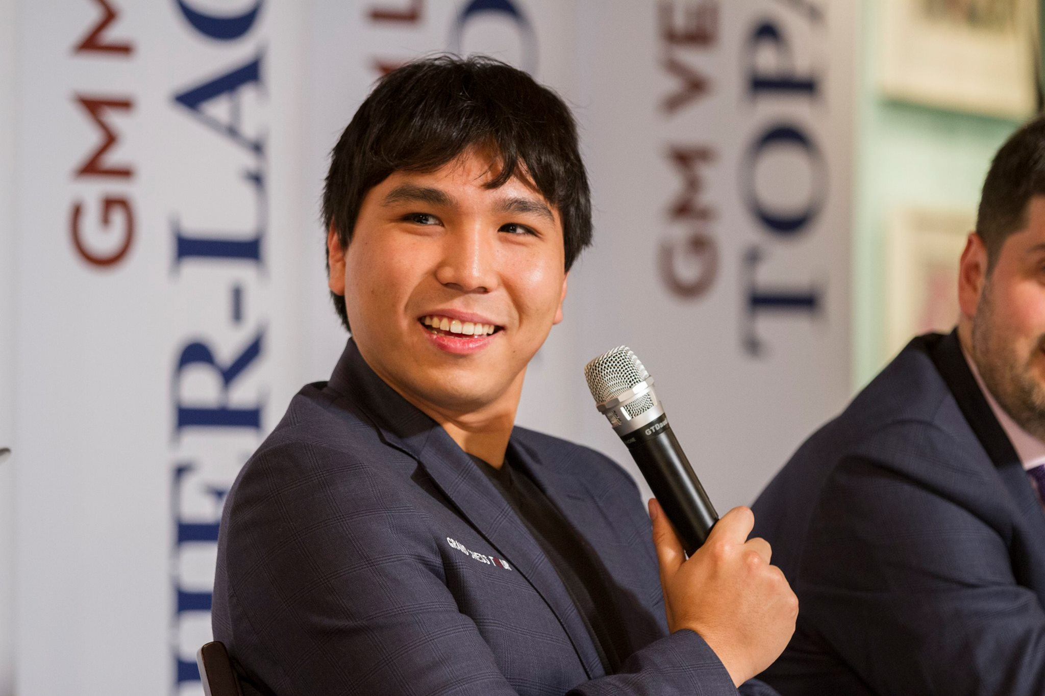 Wesley So at the Sinquefield Cup (Photo by Spectrum Studios)