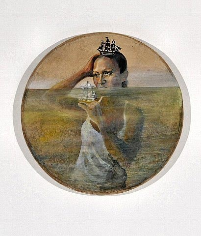 Poethig's  OFW Drowning , from the 2008  Galleon Trade: Bay Area Now 5 Exhibition.  (  Photo  © Johanna Poethig)